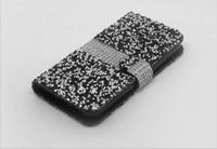 Hybrid Bling Rhinestone-Diamant-Mappen-Abdeckungs-Fall-Kreditkarte-Schlitz für Samsung Galaxy S8 Plus-J3 Prime J7 PRIME T-MOBILE Motorola Moto E4