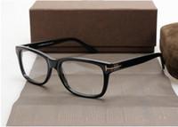 New Óculos sp 5176 moldura preta para mulheres homens correspondentes prescrição de lentes com caso