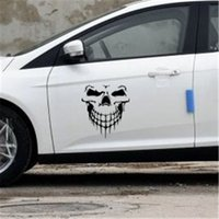 Halloween large size skull car sticker Car styling Glue Stic...