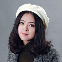 All'ingrosso-caldo di vendita delle donne tutto-fiammifero classico multi-color pelliccia calda Beret Autunno Inverno Cap Hat