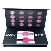 New Beauty Liquid 16colors Lipgloss Makeup kit Lipsticks 16c...
