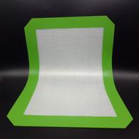 Non-Stick Силиконовые коврики 30 см х 21 см (11.81 x 8,27 дюйма) Силиконовые коврики для выпечки DAB Масляные воск Ska