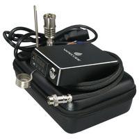 2017 Ny stil VaPeCode Portable Electric Dab Nail Kit med bärbar väska Kontroll Box GR2 Titan Nail för glas Bong Wax E D Dab Spik