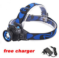 Zoomable Headlight 2000 Lumen CREE XML Q5 Rechargeable Headl...