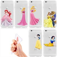 Beautyy and Beastt Snow White Princess creative Soft TPU cas...