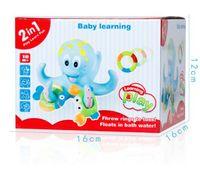 Baby Wind Up Toys Bath Toys Octopus Kids Baby Water Bath Toys Para niños jugando Juegos Ducha Piscina