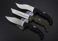 new cold steel big folding knife VOYAGER knife 8cr13MOV blad...