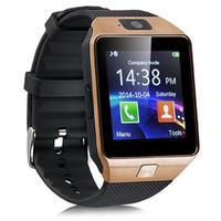 DZ09 الساعات الذكية بلوتوث ووتش الهاتف GT08 U8 A1 معصمه الروبوت SIM TF بطاقة ذكي المحمول حزمة مكافحة خسر التجزئة smartwatch