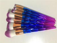 2017 Nuovo kit di spazzole Professional Vander 7pcs Cream Power Pennelli trucco professionale Multiuso Beauty Cosmetic Puff Batch Kabuki Fard