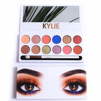 2017 Hot Kylie 12 Color Eyeshadow Palette Kylie Royal Peach ...