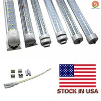 8ft led light tube 60w 72w tube R17D G13 Integrated Double S...