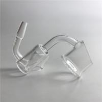 새로운 XL 에반 쇼어 방글라 Quartz 25mm OD 10mm 14mm 남성 코어 원자로 Banger 성배 손톱 열 기둥 석영과 Domeless 손톱