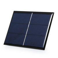 높은 품질 0.65W 1.5V 태양 전지 다결정 DIY 태양 전지 패널 충전기 시스템 용 LED 라이트 + 케이블 / 와이어 교육 키트 에폭시