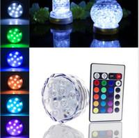 2017 neues Produkt 5pcs LED-Unterwasser-Kerze Blumen Teelicht Wasserdicht Hochzeit Dekoration Huka Shisha Flashing