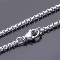 """الأزياء والمجوهرات سوار الكاحل 2.5 مم السلس رولو سلسلة ماء الفولاذ المقاوم للصدأ الخلخال 9 """"10"""" 11 """"شحن مجاني بالجملة مصنع العرض"""