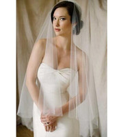 Sexy Short White Ivory Veil 2017 Bride One Layer Wedding Veil With Comb accessoire robe de mariee Accessoires Mariage Sexy