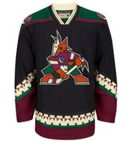 Arizona Phoenix Coyotes # 23 Oliver Ekman-Larsson 19 Shane Doan Home Red Mens Shisted Hoqkey Jerseys для продажи
