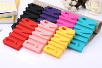 PINK Stereo Silicone Case For iPhone 5 5S 6 6S 7 Plus 3D Car...