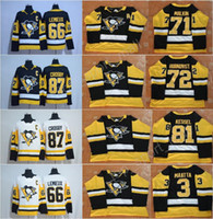 2017- 18 New Hockey Pittsburgh Penguins Jerseys Throwback 81 ...