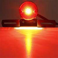دراجة نارية جولة الذيل ضوء بدوره إشارة مصباح 12V المصابيح الخلفية للدراجات النارية بدوره الأنوار