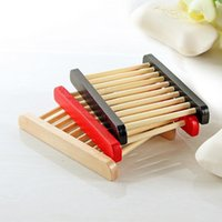 New 3 colors Natural Wood Soap Dish Wooden Soap Tray Holder Storage Soap Rack Plate Box Container for Bath Shower Plate Bathroom Accessories & Wholesale Red Dish Rack - Buy Cheap Red Dish Rack in Bulk from ...