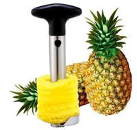 Hot Fashion Nouveauté Maison détient en acier inoxydable Fruit Ananas Corer Trancheuse Éplucheur Cutter Parer Couteau 144 pcs Livraison Gratuite