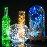 3m 30 Ledler Gümüş Tel 2 Düğme Pil Beyaz Noel Peri ışıkları Isınma Led Strings Lights Powered
