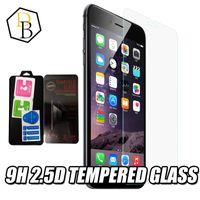 Dla iPhone'a 12 Mini 11 Pro XS Max XR Szkło Hartowane Wysokiej Jakości Ochraniacz ekranu Wyczyść Widok Glass Glass 9H 2.5D Anti-Cratch