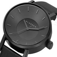 Marca de lujo KLASSE14 Moda Casual Relojes de cuero Mujer Hombre Reloj de negocios