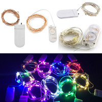 Micro CR2032 battery operated 20 LED Fairy String Lights Sil...