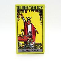 Die Reiter Tarot Deck Brettspiel 78 + 2 Teile / satz Neue Design Karten Spiel Englisch Edition Tarot Brettspiel Für Familie Freunde