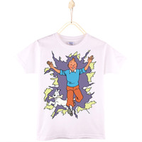 2017 New Fashion The Adventures of Tintins Children T- shirts...