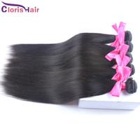 İpeksi Düz Virgin Perulu Saç Dokuma İşlenmemiş% 100 Doğal İnsan Saç Uzantıları Ucuz Peru Düz Atkı 1 Bundle 100g / adet