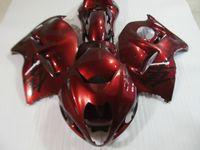Kit di carenatura di alta qualità per Suzuki GSXR1300 96 97 98 99 00 01-07 Vino Fierismi rossi Set GSXR1300 1996-2007 OT18