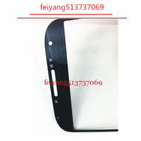 Marca de vidro New exterior para o Samsung Galaxy S4 i9500 9505 LCD Touch Screen digitador Frente lente de vidro
