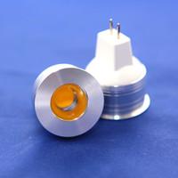 省エネルギー10ピース/ロット高出力6W穂軸LEDスポットライトMR11 GU4 LED電球ランプDIMMABLE DC12V / AC110V / 220V