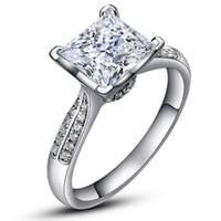 2ct classic Eiffel Tower ring , SONA diamond ring,