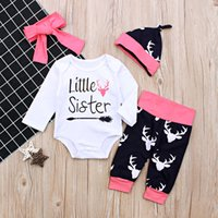 Baby Girls Pink Clothes Newborn Kid Baby Girl Outfits Little...