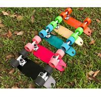 3147599b4b6b7 Venda por atacado - Mini 17inch Skate Skate Maple Profissional Skate  Longboard Skate completo para Meninos