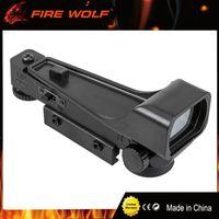 Fire Wolf Tactical 11mm 20mm holografisk 1x22x33 reflex röd grön prick siktsomfattning abs jakt taktisk för airsoft gevär räckvidd