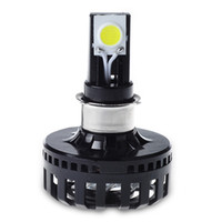 Anpassad 12V 24V 8-36V Hej Lo Beam Car H4 LED-strålkastare Lampor Motorcykel Körljus Led Cob Chips Head Lights