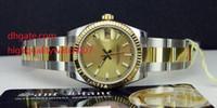 MEST-SELLING Damen 2-Ton Gold / Stahl Armbanduhren 31mm Womens Automatic Watch Champagne Yellow Dial Mode