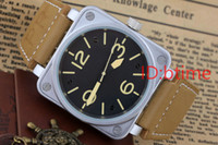White Mens Automatic Mechanical Limited Edition Watch Bell A...