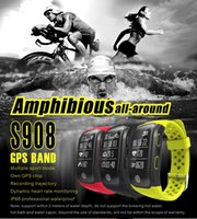S908 GPS Smartband Heart Rate Monitor Sedentary Reminder Ped...