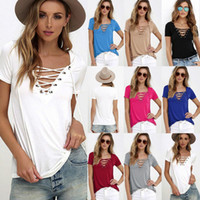 NEW Fashion Short Sleeve T- shirts Plus Size Women Cotton Tee...