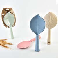 Environmental- friendly Rice Non- stick Green Leaves Spoon Mad...