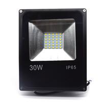 LED 투광 조명 30W Ultral 씬 LED 홍수 빛 스포트라이트 85V - 265V 방수 야외 벽 램프 프로젝터 무료 DHL