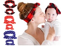 Z&F Head Bands Parent- child Headbands Family Headwrap Hair O...