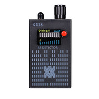 1 Mhz-8000 Mhz Kablosuz RF Sinyal Dedektörü Tespit Cep Telefonu CDMA Sinyal Ses Video Kamera GPS bulucu Dedektörü G318 el dedektörü