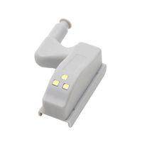Toptan-Iç Menteşe LED Sensörü Işık Mutfak Oturma odası Yatak Odası Kabine Dolap Dolap Dolap Gece Işıkları Için